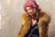 ⊹ PaiNTiNGS ⊹ / All paintings on http://impressioniartistiche.blogspot.it/