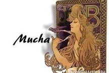 ⊱ Alphonse Maria Mucha ⊰ / ≻   Alphonse Maria Mucha ~ Ivančice, Moravia 24 July 1860 - Prague, 14 July 1939 ≺  Mucha, was a Czech Art Nouveau painter and decorative artist, known best for his distinct style. He produced many paintings, illustrations, advertisements, postcards, and designs.