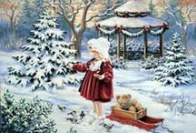 ⊱ Dona Gelsinger ~ Christmas ⊰ / ≻ Dona Gelsinger ~ Phoenix ,Arizona ≺ Dona Gelsinger is renowned in the art world and among collectors for her beloved images of angels, nature and Christmas.
