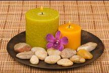 candles arranging