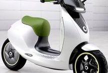 Véhicules électriques / Automobiles, vélo, scooters... Électriques ou hybrides.  Bornes de recharge.  Autre mobilité durable.