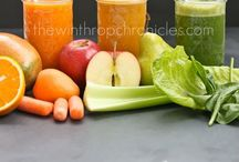 Juicing and Blending / by Hannah