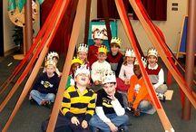 Classroom / Preschool kids room classroom  / by Canan Duran