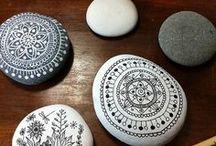 kameny v umění a dekoraci