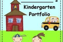 Portfolyo / Okul Öncesi- kapak sayfaları