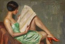 ⊹ Reading /// the LeTTeR ⊹ Classic aRT