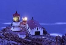Lighthouses, West USA / To shoot