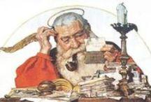 ⊱ Norman Rockwell ~ Christmas ⊰