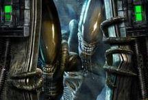 Alien & Predador