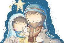 Vánoce....výroba betlému