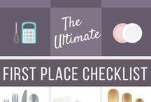 Your First Apartment or Home / Check out these pins to decorate your first home on a budget!