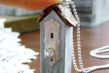 ALTERED JEWELRY (#2) / MORE AMAZING IDEAS FOR THE CREATIVE SOUL !! / by Ingrid Achamizo