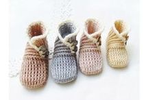 crochet - shoes