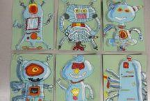 Art lesson ideas, middle school / by dyan boli