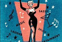 Bar, Lounge & Nightclub Matches / Vintage Nightclub, Bar and Lounge Matches.