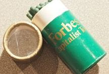 SPECIAL PACKAGING USED IN MATCH ADVERTISING / Special containers, die cut shaped boxes and whimsical packaging that was designed like the product that it was advertising
