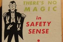 SAFETY ADVERTISING MATCHES