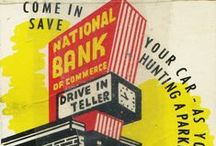 Banks, Credit Union & Insurance Matches / #matchbook advertising by Banks, Credit Unions and Insurance Companies
