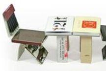 Restaurant Matches -Modern Day & Retro / Retro vintage looking matches and Arresting Modern Day Match Books and Match Boxes.