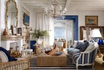home design / multitude of blues in your house