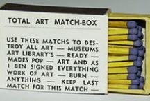 MATCHES Featuring ARTISTS' ART / Famous and not so famous artists' art reproduced on match covers