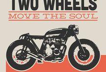 Café racer / Motocycle