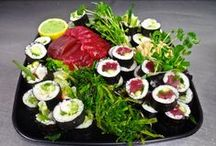 In-Flight Catering / Freshly prepared, gourmet courses for your flight!