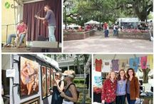 """Spring On Stage / """"Spring On Stage"""" with Visit Tallahassee! From national artists and bands to exciting cultural experiences, Florida's Capital City offers unparalleled entertainment for residents and visitors."""