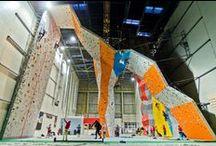 Climbing in Warsaw! / Arena Wspinaczkowa Makak, indoor climbing gym, Warsaw, Poland