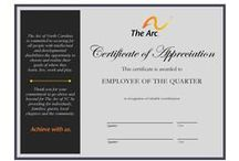 The Arc of NC - EMPLOYEE OF THE QUARTER / Highlighting Employees of The Arc of NC