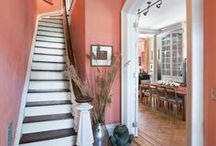 Stylish Stairs / Staircases are a wonderful place to put in some unexpected flair.