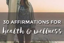 Wellness / Wednesdays are all about wellness. We all need a (weekly) reminder to do what we need to do to be healthy and happy!
