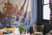 Boho Bedroom / For those of us with wanderlust!