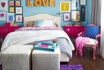 Teen/Tween Girls Rooms / Inspirational ideas for teen/tween girls bedrooms!