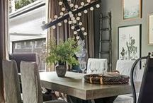 Dramatic Dining Rooms / Bold and elegant dining spaces.
