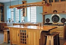 Cozy Kitchens / The heart of the home in living color.