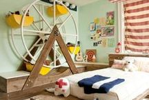 Bedrooms for Little Men / Bedroom style for your little fella.