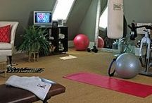 Home Gyms / Spaces sure to inspire you to sweat!