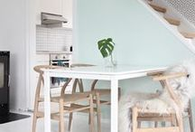 Breakfast Nooks / Style for small spaces.