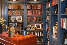 Home Library / Grab a blankie and settle in with a good book in these cozy home libraries.