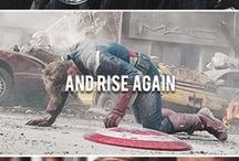 "Avengers Fandom / ""I'm with you till the end of the line."" / by Geek Fandom"