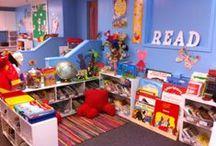 Teaching: Classroom & dramatic play / Ideeën voor de inrichting van je (kleuter)klas.