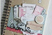 Scrapbooking / Pour faire le plein d'idées pour vos créations scrap!