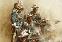 Western Art, Cowboys &  who played them: Two / by Forest Farrell