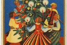 Christmas - Vintage Polish Christmas cards