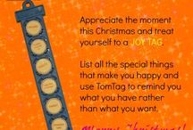 TomTag Advent Calendar / 24 ideas, suggestions and tips for using TomTag. They'll mostly be practical ideas but we'll be sprinkly in a bit of festive fun & cheer along the way too!