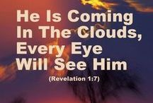 He's Coming Back...Will You Be Ready??? / by Sherry Sparks