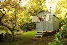 Shepherds huts abd sheds