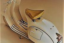 MOTO  ,  LE MIE / Tutte le motorette che ho avuto . . la Vespa 50 , poi il Corsarino 50 della Moto Morini , Poi la prima Moto Guzzi , lo scrambler 125 mitico Stornello 125 . . Dopo parecchi anni ( quando mi son ripreso da un incidente disastroso ) la Vespa Primavera T3 , e poi finalmente il V7 della Guzzi , 750 cc , ce l' ho ancora .