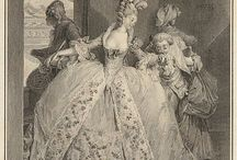 Rococo Fashion 1700s / by Kevin Crouch